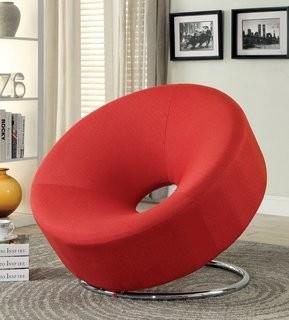 Wade Logan Neriah Papasan Chair - Red (CST17563_13669920)