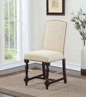 Darby Home Co Alesia Upholstered Dining Chair - Set of 2 (DRBH1688)