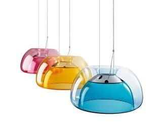 QisDesign Aurelia 1-Light Bowl Pendant - Orange (DJQ1016_7447100)
