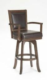 Ambassador Swivel Bar Stool, Cherry - 100627-101169