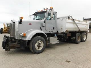 2008 Peterbilt 367 T/A Gravel Truck