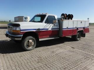 1997 Ford F350 4x4 Service Truck