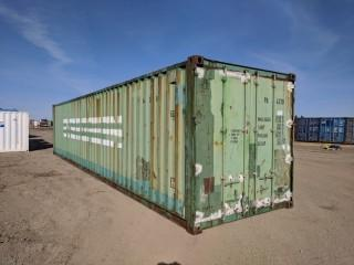 40' Storage Container (Green)