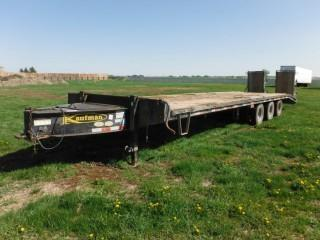2011 Kaufman 35' Triaxle Pintle Hitch Trailer