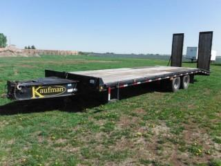 2008 Kaufman 29' T/A Pintle Hitch Trailer