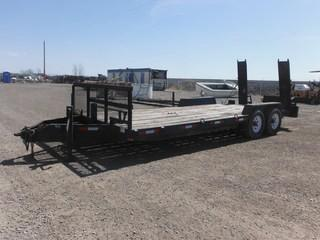 21' T/A Pintle Hitch Deck Trailer