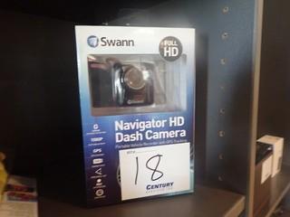 Lot of Swann Navigator HD Dash Camera and Rear View Camera.