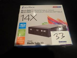 Cyberlink Media Suite 10 Blueray Rewritable Drive.