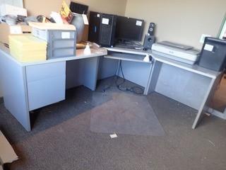 L-Shaped Computer Desk.
