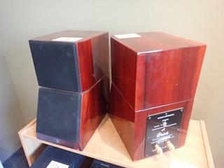 Lot of 2 Jazz Audio Orsa 2-way Loud Speaker Systems.