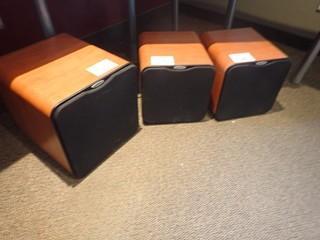 Lot of Velodyne SPL-R Series Subwoofer and 2 Book Shelf Speaker.