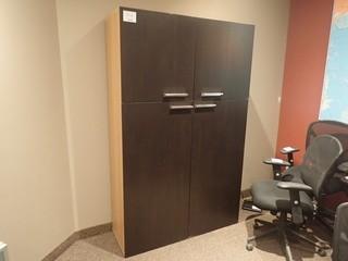 4-door Storage Cabinet.