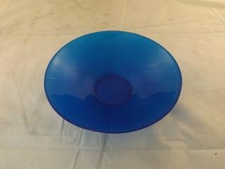 "Lot of (6) 10"" Blue Bowls"