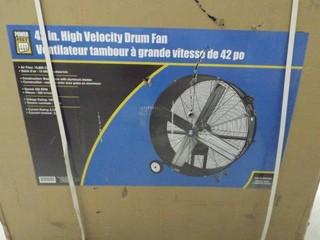 "Powerfist 42"" High Velocity Drum Fan"