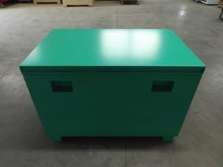 """30"""" x 48"""" x 33"""" Green Job Box"""
