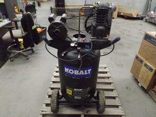 Kobalt 155 PSI 2.0HP, 120V 30 Gal Air Compressor