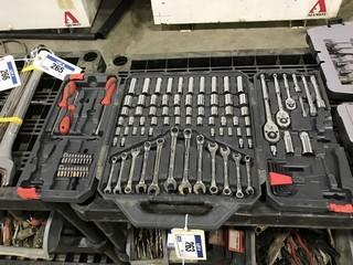 Crescent Brand Metric/ Imperial Socket Wrench Set.