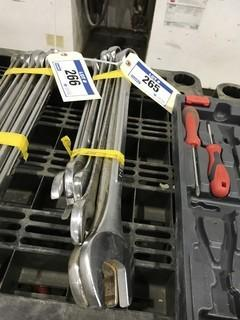 Lot of (6) Asst. Combination Wrenches.