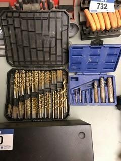 Lot of Asst. Drill Bits and Screw Extractors