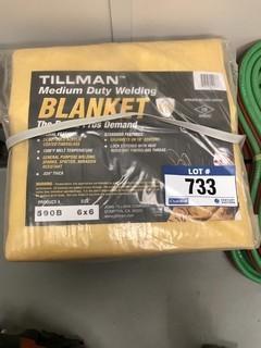 Lot of (3) Welding Blankets