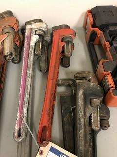 """Lot of (2) 24"""" Pipe Wrenches"""