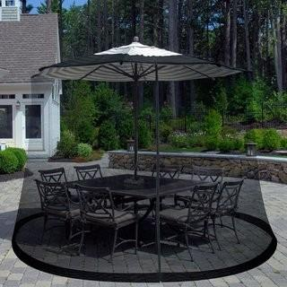 Charlton Home Brass Work Outdoor Umbrella Screen (CRLM3232)