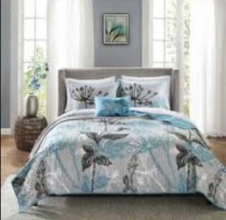 Latitude Run Reich Coverlet and Cotton Sheet Set (LATR5141_19502433)