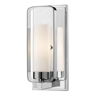 Mercer41 Kewdale 1-Light Wall Sconce (MCRF6385_26616314) - Blk