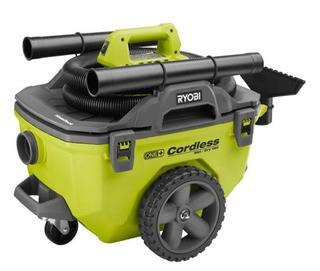 Ryobi 18v One + - 6 Gallon Wet Dry Vacuum (Tool Only) - No Battery