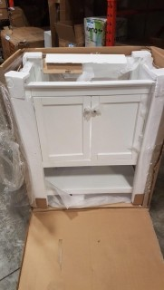 Bathroom Vanity (CMB2305WH)- NO TOP