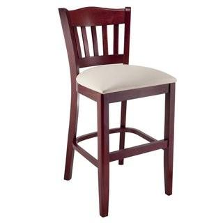 Charlton Home Fatuberlio 24'' Bar Stool (BNKS1184) - Cream Seat