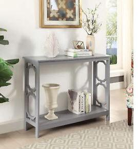Convenience Concepts S20-213 - Omega Console Table - Grey