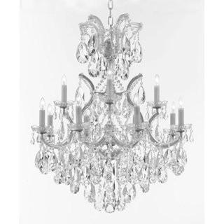 House of Hampton Amhold Swarovski 13-Light Candle Style Chandelier (GMLC1022_29057800)