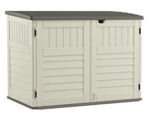 Suncast The Stow-away Horizontal Storage shed - BMS4700