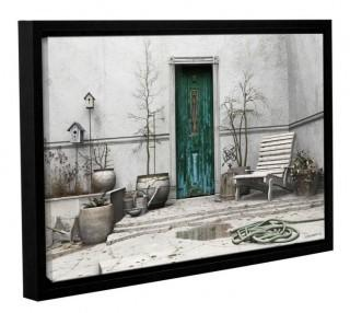 "ArtWall Winter Garden by Cynthia Decker Framed Photographic Print on Wrapped Canvas ARWL6880_13487407) - 32"" x 48"""