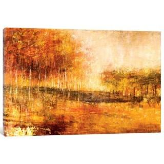 "East Urban Home 'This Coming Fall' Painting Print on Canvas (ESUR9558_20931426) - 8"" x 12"""