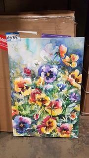 "Spring Flowers Print - 22"" x 32"""