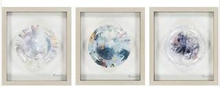 Surya Steele: 16 x 18-Inch Wall Art, Set of Three - STE7001-1618 -