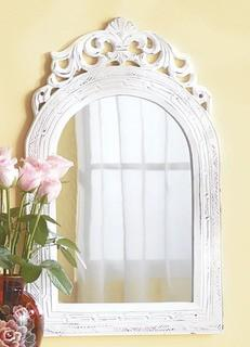"Lark Manor Contemporary Vertical Arched Wall Mirror (LRKM2509) - 12"" x 13"""
