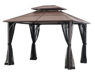 Hampton Bay - Farrington 10 ft. x 12 ft. Hard Top Gazebo