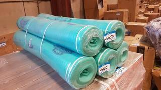 Lot 2 Rolls Green Underlay - Approx 200 Sq.Ft per Roll (CB10-130)