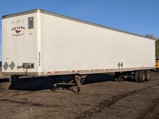 2006 Wabash 53' T/A Van Trailer c/w Air Ride Susp., 11R22.5 Tires.