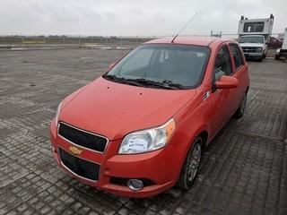 Chev Aveo 5 LS Hatchback Car c/w 4 Cyl, Auto, Requires Repair.