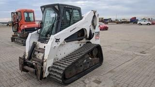 Bobcat T320 Tracked Skid Steer Showing 1133 Hours.