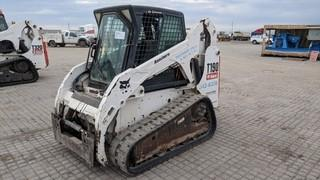 2007 Bobcat T190 Skid Steer Showing 1962 Hours.