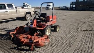 "Kubota F2400B 4x4 Mower c/w Kubota 3 Cyl Diesel,  ROPS, 74"" Mower Deck. Showing 2630 Hours.