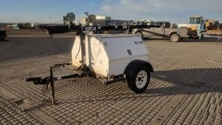 Magnum MLT 5080 MMH Portable Light Tower c/w Mitsubishi 3 Cyl Diesel, 7 KW.
