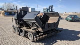 Allatt C300 Paver c/w Hatz Diesel Engine, Propane Heaters, Screened Auto Feed