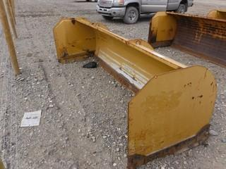 10 Ft. HLA 3500 Snow Push To Fit Skid Steer Control # 7011.