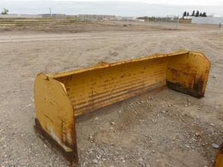 10 Ft. HLA 3500 Snow Push To Fit Skid Steer Control # 7013.